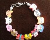 Little Girl's Fun Animal Bracelet