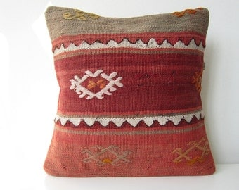 Old  Rug Pillow Cover (kilim)