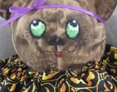 11 inch Grubby Halloween Bear meet Vesta the Halloween Witch bear