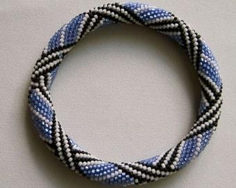Bead Crochet Pattern:  MC Escher's Favorite Bead Crocheted Bangle