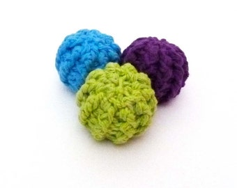 Kitty Rattle Balls Cat Toys - Choose Your Colors
