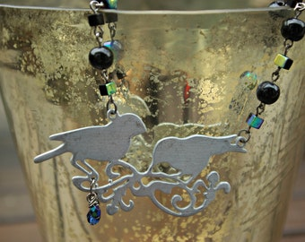 A Birdie Told Me Necklace - Free Domestic Shipping