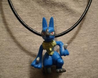 Pokemon Lucario Necklace
