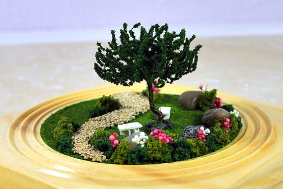 SALE The Lovers Garden Miniature Garden Mini