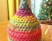 RESERVED for Sarah - Rainbow Pixie Hat - 100% Wool - Photo Prop - Newborn Hat, Baby Hat - 0-3 Months, 3-6 months, 6-12 months
