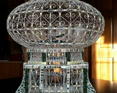 Mosaiced Vintage Tunisian, Mediterranean bird cage