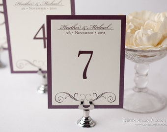 Popular Items For Wedding Table Card On Etsy