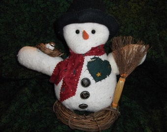 Christmas Decoration - Mr Shivers Snowman