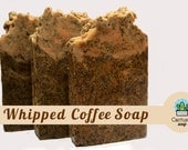 Whipped Coffee Soap - Cold Process Soap - Organic soap