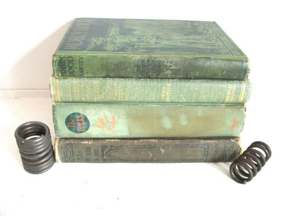 Vintage Collection of Green Books