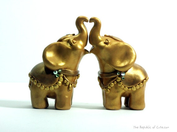 indian elephant wedding cake toppers gold elephant wedding cake toppers decorated indian 16401