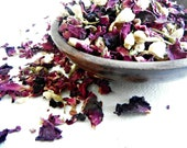 Jasmine Rose Organic Bath Tea, Gifts for Her, Gifts for Mom, Bath Tea For Relaxation and Stress Relief, Romatic Bath Tea