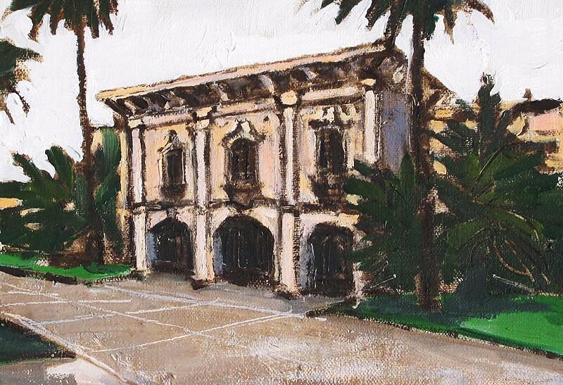 Balboa Park Painting