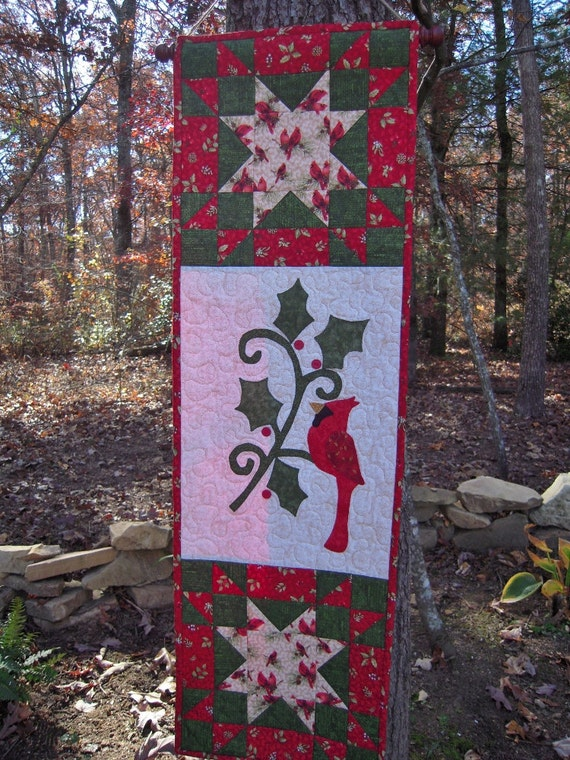 Quilted Wall Hanging Quilt Door Decor Christmas Wall