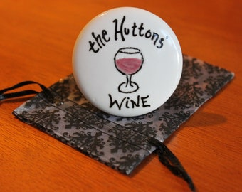 Custom Wine Stopper Personalized Wine Stopper Bottle Stopper