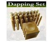 24 punch Mazbot WOODEN dapping set - DPS03