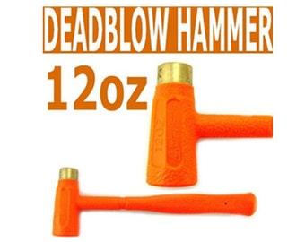 New 12oz  Neon dead blow hammer Hammer  -  DBH04