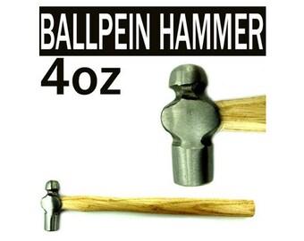 4oz Mazbot Ball Pein Hammer Jewelry Tools   -   BH06
