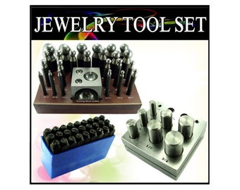 3pc Professional Grade Dapping and Stamping Kit