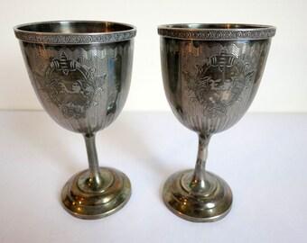 Decorative Deco Goblets