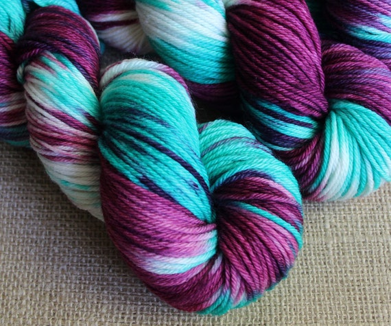Polyjuice Potion - SW Merino Worsted Yarn - Hand Dyed - 218 yds