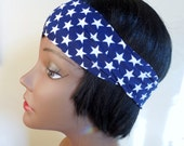 American Flag Headband Patriotic, july 4th fashion accessories
