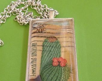 Desert Bloom Pendant Necklace