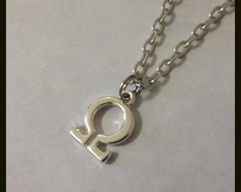 Alice In Wonderland Omega Necklace, Unisex, American McGee's Alice Inspired, Madness Returns