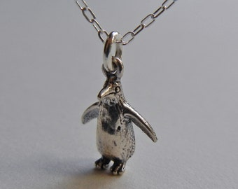 Tiny Penguin Necklace