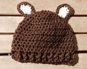 Custom for Pam Baby Monkey hat with cute ears