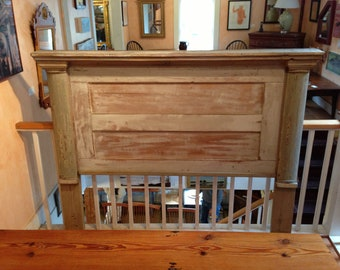 H11 Handmade Wooden Headboard from Architectural Pieces