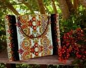Elise's French 40s Large Needlepoint Tapestry Handbag