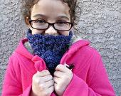 Crochet Cowl Pattern Vintage Inspired Fancy Cowl for Kids