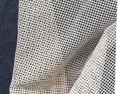 "Silk gauze 40 count dollhouse doll petite point needlepoint ivory 36"" x 36"""
