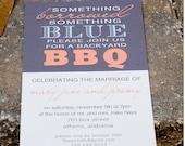 Shower, Engagement Party or Wedding Invitation Deposit (something blue)