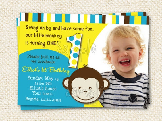 Monkey Birthday Invitations correctly perfect ideas for your invitation layout