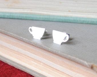 Teacup Post Earrings
