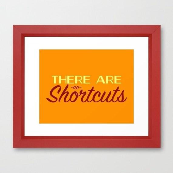 Typography Print Inspirational Wall Art Office Wall Art