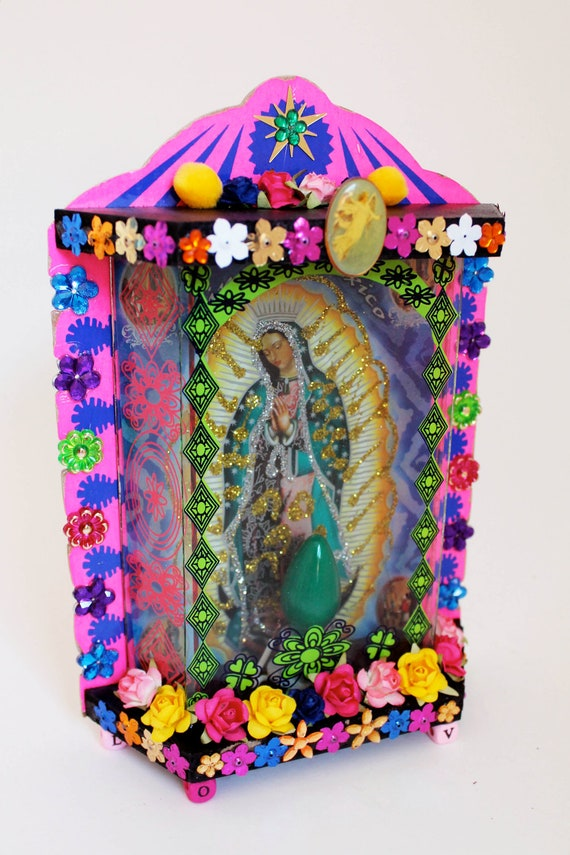 Mexican Boxing Art Box / Mexican Folk Art