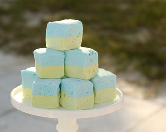 Key Lime Marshmallows 2 dozen featured in Etsy finds