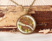 Map of London - Vintage Necklace