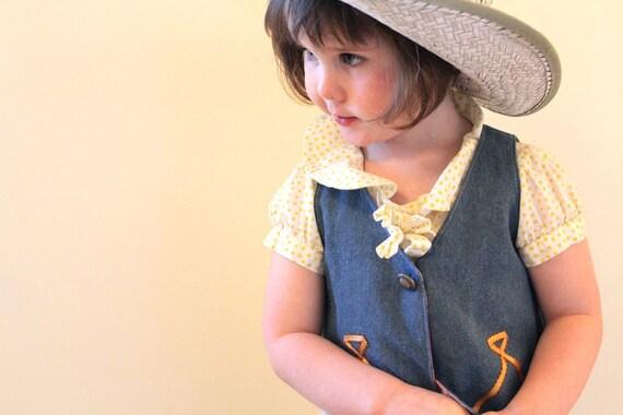 Little buckaroo vest