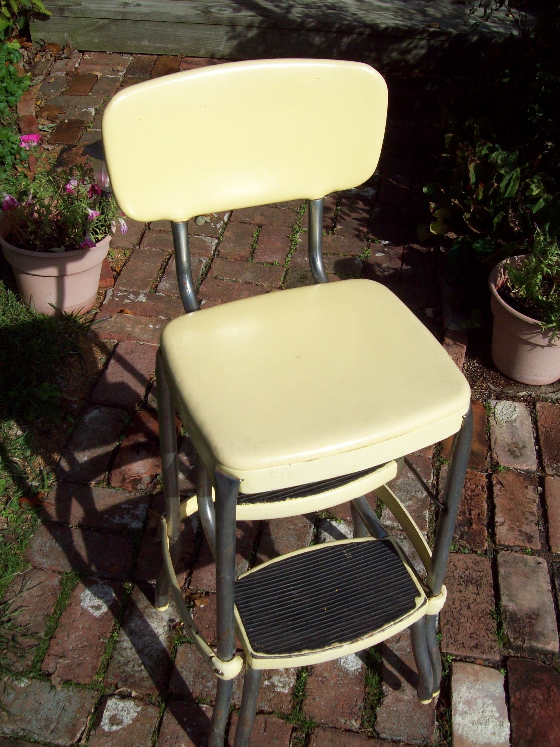 Vintage Cosco Step Stool Chair By Thevrose On Etsy