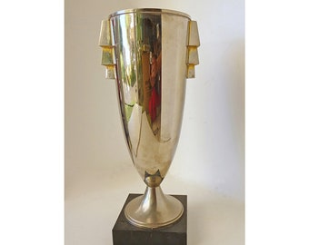 REDUCED 1953 TWA Art Deco Trophy for Domestic Sales (in Madrid)