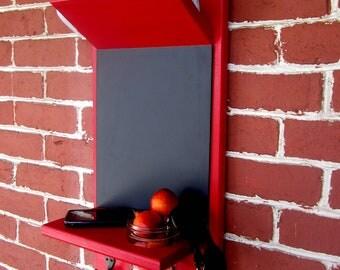 N E W  Mailholder, Chalkboard, Keyhook, Mason Jar, Shelf  ALL IN ONE