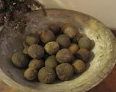 Dried Black Walnuts