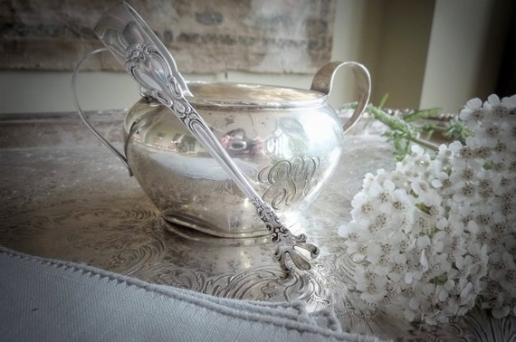 Antique Sterling Sugar Tongs, from Garden of Simples