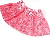 Girls Softball Pink and White  Skirt