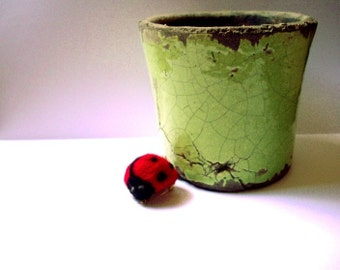 Tiny Ladybird - Ladybug Felt Brooch