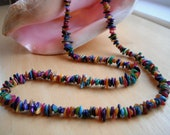 Multi-Color Mother of Pearl Necklace